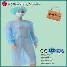 Medical disposable surgical gown dental disposable gown