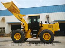 Export Ethiopia Hydraulic 162kW Shangchai engine 5 ton wheel loader XCMG ZL50G