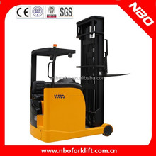 NBO 1 ton electric reach truck, reach truck forklift,reach stacker