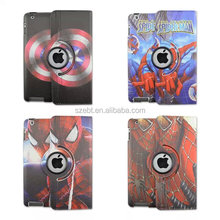 For Ipad 3 case,With Spiderman Design Cover For Ipad 3 case