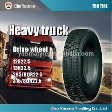 China ruedas y llantas de 315/80r22.5 de neumáticos de camión