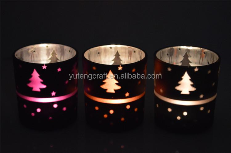Envase de vidrio frascos única vela vela velas votivas de vidrio ...