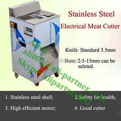 Cooked beef slicing machine / Frozen meat slicing machine