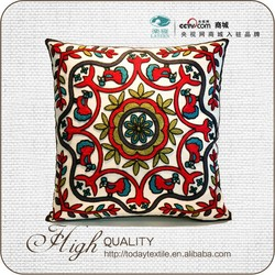 Hotsale soft cotton and linen throw pillow cover