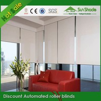 Hot selling Automated roller blinds