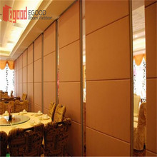 hotel building material partition wall panels movable partition