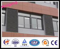 OEM available vertical roller shutter door with powder coated