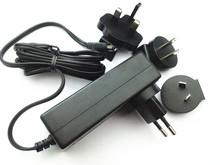 Interchangeable ac plug 12V 2A 1A 5V 2A 12v 5a power adapter with USA/Australia/Europe/UK plugs .dubai for LED .SET TOP BOX
