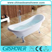Clear acrylic classical low price bathtub