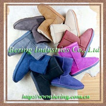 Classical stock cheap women's snow boots made in china