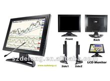 Industrial Touch Screen Monitor 15Inch VGA TFT LCD for POS Panel / KIOSK PANEL