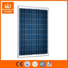 150W poly mono panel solar y módulo de energía solar