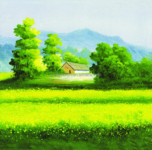 Handmade Oil Painting Landscape canvas pictures