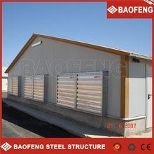 light steel mobile broiler poultry shed design turkey