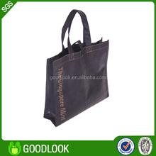 OEM factory price recycled christmas santa gift bag