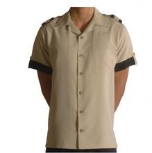 Summer Short Sleeve Man Shirt Bellboy Uniform for Hotel Uniform for Staff Bellman Doorman Uniforms Design Valet Shirt WS631
