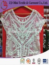 moda de encaje de algodón ropa de <span class=keywords><strong>ganchillo</strong></span> chaleco para las mujeres