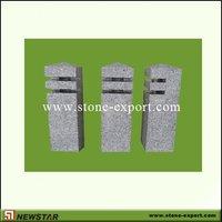 Driveway Pillar Stone,Granite Pillar, Granite Stone