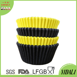 Party Supply and Tableware Colorful Disposable Muffin Paper Cups