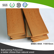 Easy Installation Plastic Wood Deck for Polywood Outdoor Flooring