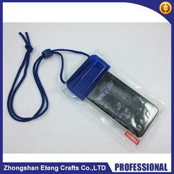 2015 Best popular high quality custom printed waterproof pvc duffel bag for mobile phone