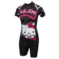 wholesale women cycling wear jersey+shorts short sleeve bicycle sets bike clothes ILPaladino #DT-538