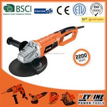 YONGKANG KEYFINE power tools 230mm 2200w high performance motor rotary handle ANGLE GRINDER