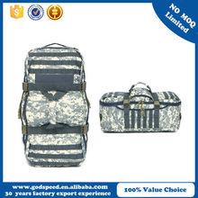 Outdoor waterproof military travel duffle bag