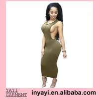 Dropshipping Bluk Wholesale 2015 New Design Fashion Sexy One Piece Bodycon Party Dress 7278
