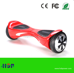 Hot Fashion style auto-balancing electric balance scooter car 2 wheel electric scooter hoverboard with CE FCC ROHS