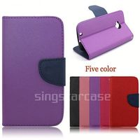 China Manufacturer wallet leather mobile phone case cover for LG LEON 4G LTE H340N