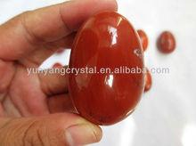 venta al por mayor natural perforado rojo venturina huevos de jade