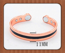Fashion and Health jewelry magnetic pure copper bangles for gift indian brass handicraft