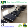 Solar Energy Powered Heat Extractor Wall Ventilation Fan with Battery Kit