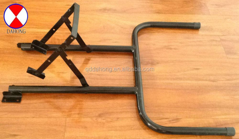 Metal folding table leg mt1502 for wooden table buy - Table pliante metal ...