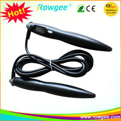 Plastic digital skipping rope, small home exercise equipment