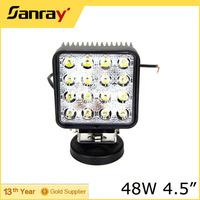 4.5 inch 48w led work light,car led headlight,12v led car spot light for tractor UTV