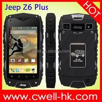Jeep Z6 MTK6582 Qua d Core 4.0 Inch 1GB RAM IP68 waterproof rugged phone
