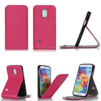 Ultra slim flip protective mobile phone case for iPhone and for Samsung series with adjusted stand view