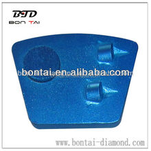 Polycrystalline Diamond grinding scraper for remove thick coating on concrete floor