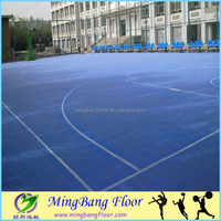 2015 new style Popular High quality modular tile Suspended Outdoor PP Interlocking Sports floor tiles Basketball Flooring
