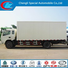 Mini van truck Dongfeng 4x2 van cargo truck made in china container carrier truck