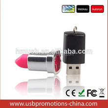alibaba hot sell stock procucts custom design lipstick shape usb flash drive,usb flash drive 500gb for promotional
