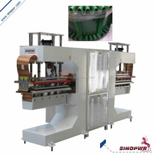 Double heads profile conveyor belt welding machine