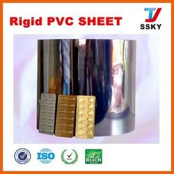 Rigid clear plastic PVC sheet pvc foam sheet for photo album
