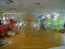 human hamster water balls hi bounce glitter water 2.1m balls 100mm ,inflatable water walking ball rental