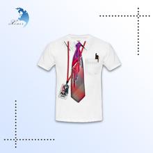 China OEM fashion school wholesale pinted t-shirts