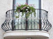 Forjado barandilla del balcón