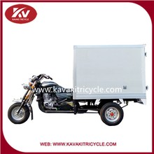 200cc automatic motorcycle with close carriage for cargo transportation