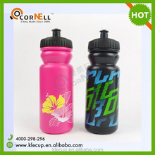 hot design HDPE plastic water bottles,bicycle sports water bottle